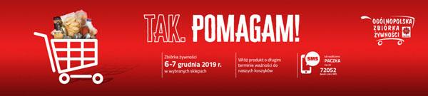XVII Zbiórka Żywności Caritas TAK, POMAGAM!