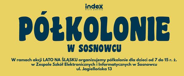 LATO NA ŚLĄSKU - Półkolonie w Sosnowcu 2020