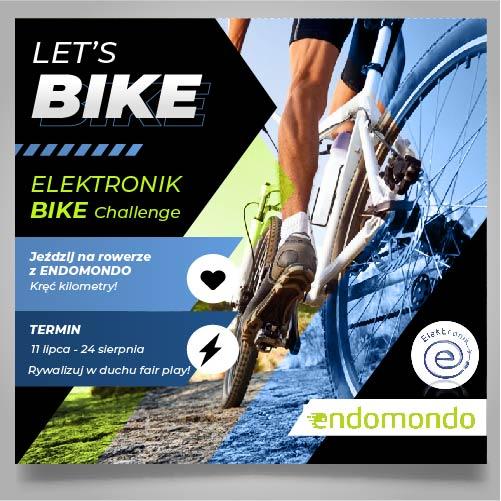 Nowe sportowe wyzwanie - ELEKTRONIK BIKE challenge