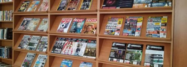Czasopisma w bibliotece